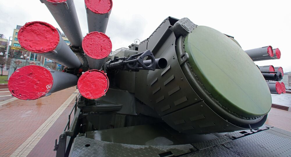 Ruský protiletadlový hybridní systém Pancir S1