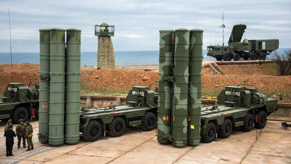S-400 Triumf v Sevastopolu. Ilustrační foto - Sputnik Česká republika