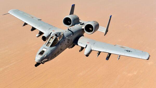 Americké útočné letadlo A-10 Thunderbolt II - Sputnik Česká republika
