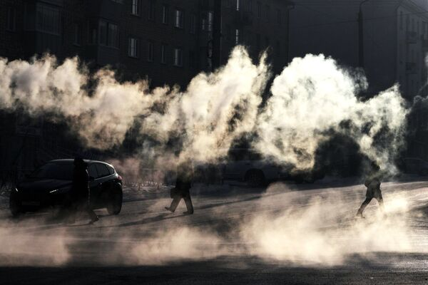 V plavkách odvážně ven! I za krutých mrazů! - Sputnik Česká republika