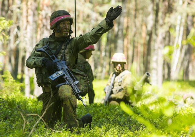 Cvičení NATO v Litvě. Ilustrační foto