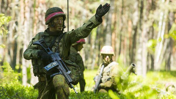 Cvičení NATO v Litvě. Ilustrační foto - Sputnik Česká republika
