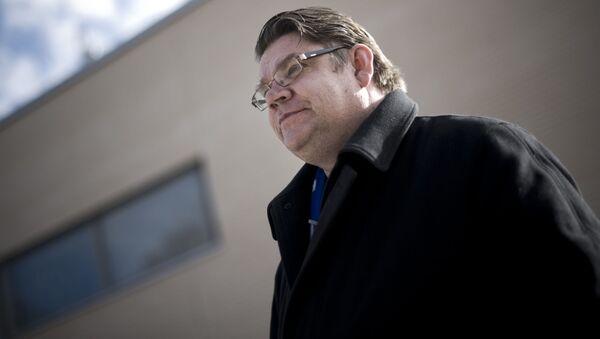 Finský ministr zahraničí Timo Soini - Sputnik Česká republika
