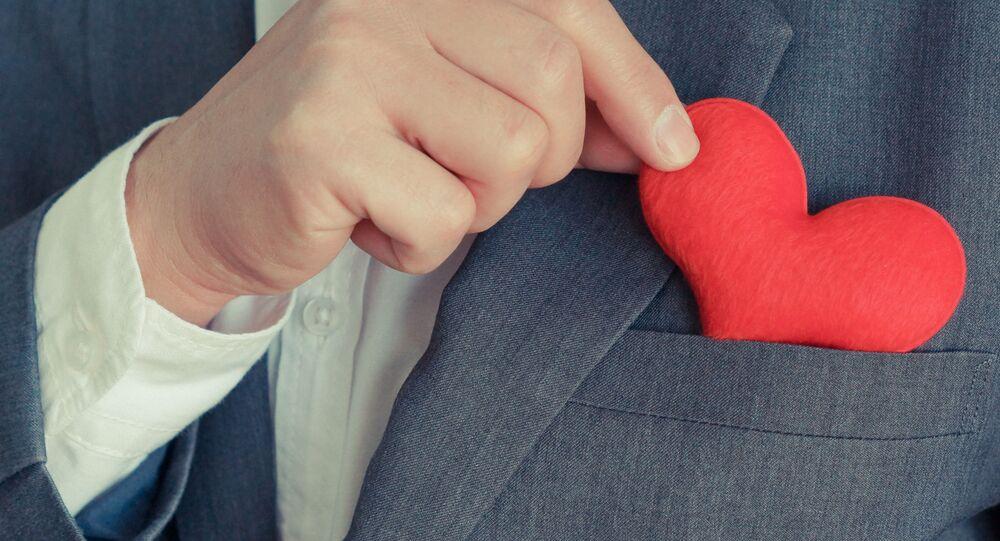 Hračka ve tvaru srdce