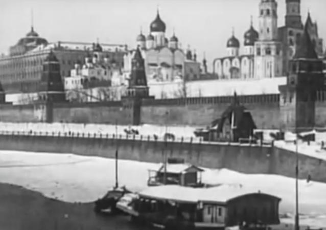 Video Moskvy, které bylo natočeno před 110 lety. Unikátní záběry