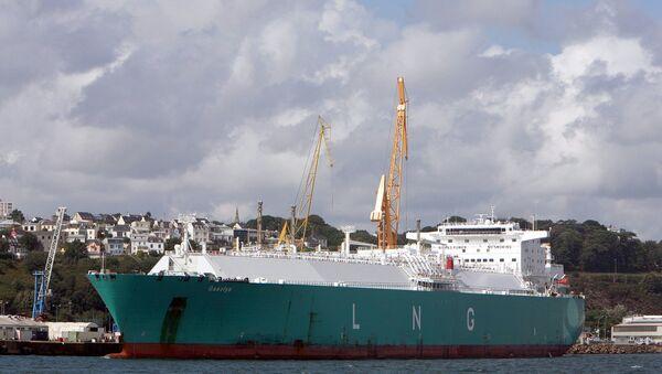 Tanker Gaselys - Sputnik Česká republika