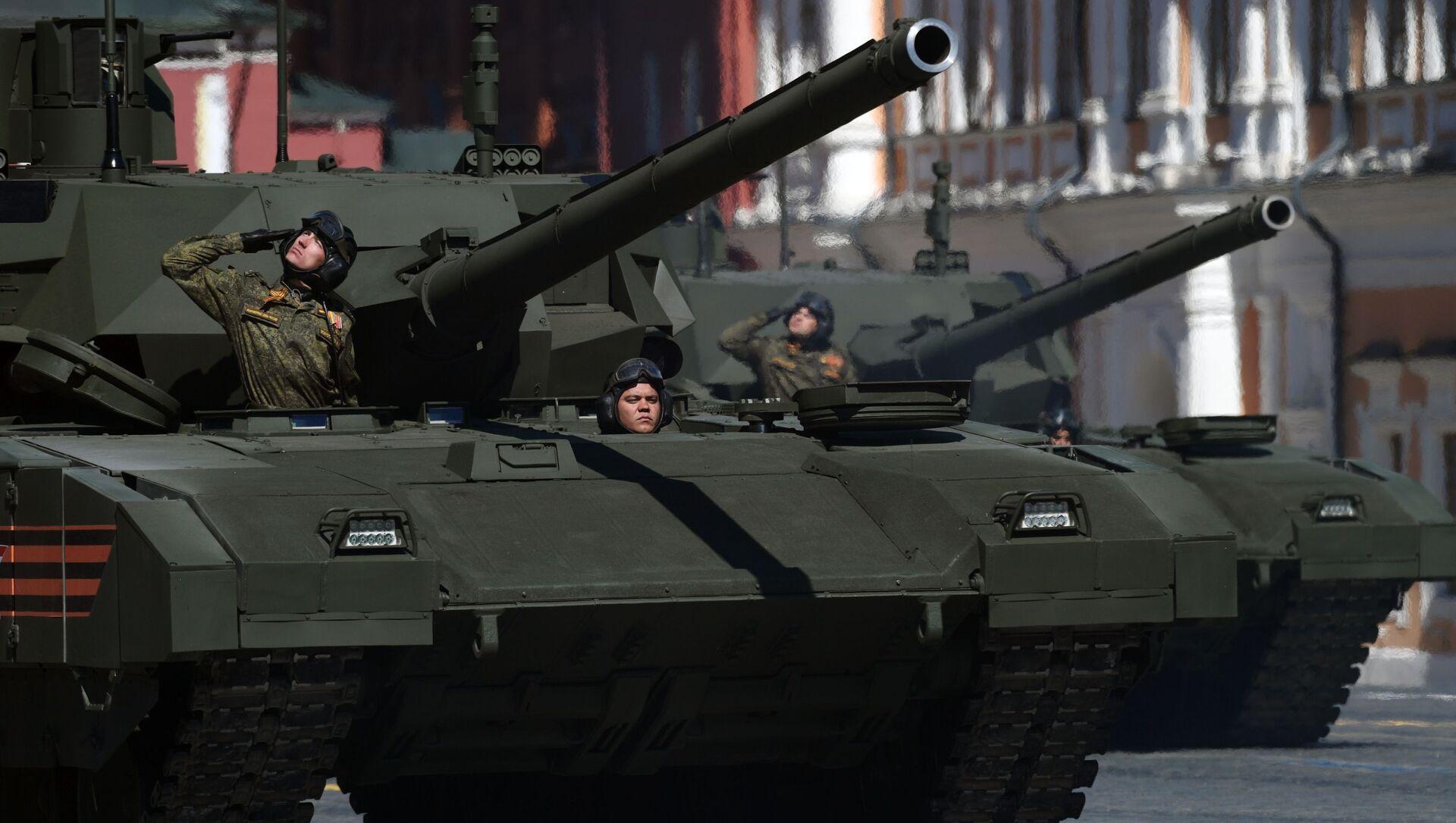 Tank T-14 Armata - Sputnik Česká republika, 1920, 04.02.2021
