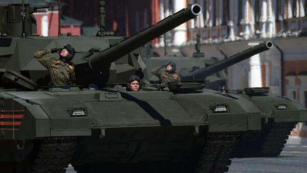 Tank T-14 Armata - Sputnik Česká republika