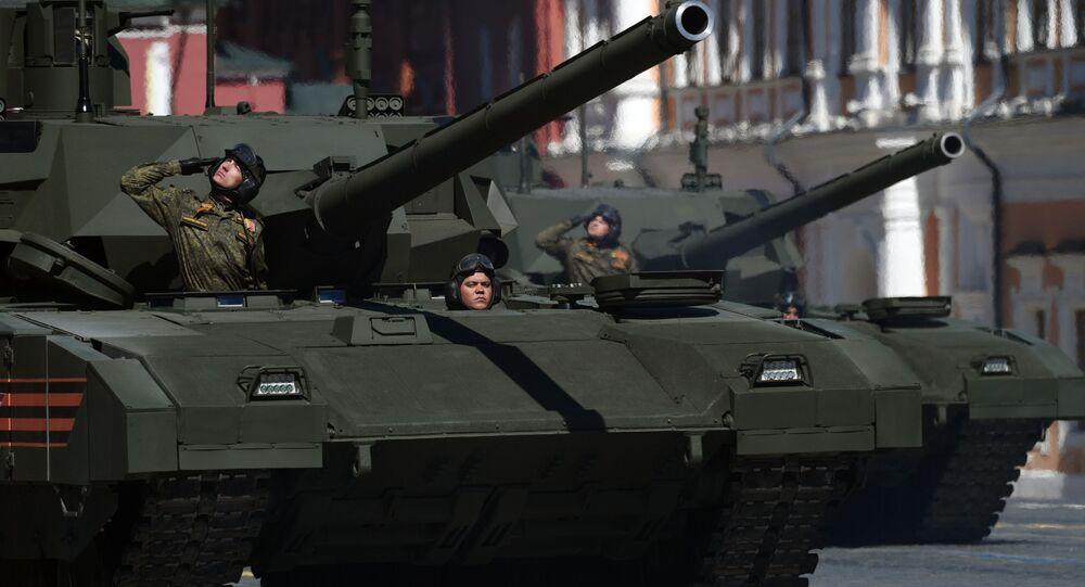 Tank T-14 Armata