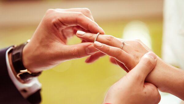 Zásnubní prsteny. Ilustrační foto - Sputnik Česká republika