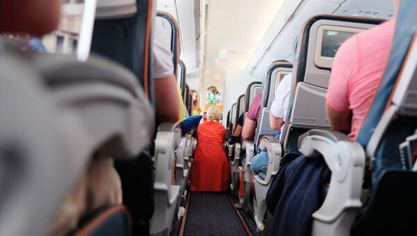 Na palubě letadla - Sputnik Česká republika