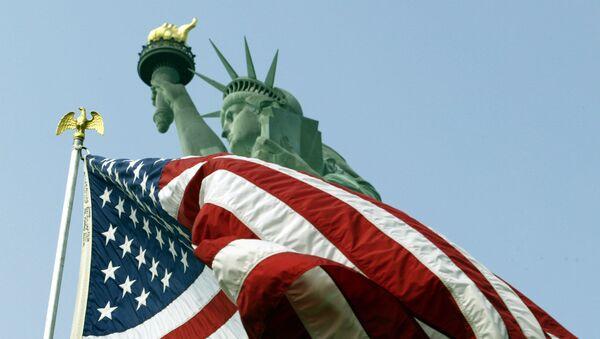 Vlajka USA - Sputnik Česká republika