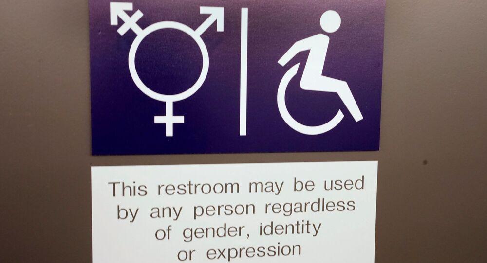 Toalety unisex ve Švýcarsku. Ilustrační foto
