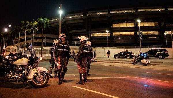 Brazilští policisté - Sputnik Česká republika