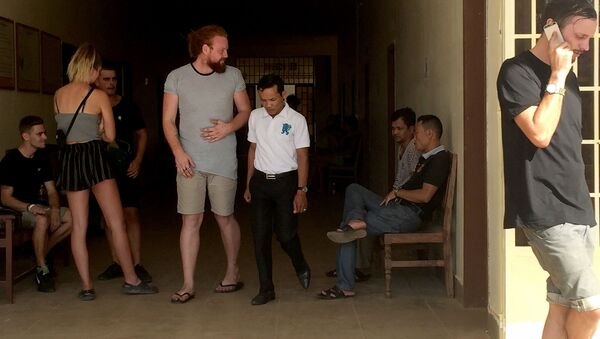 Zatčení turisté v Kambodži - Sputnik Česká republika