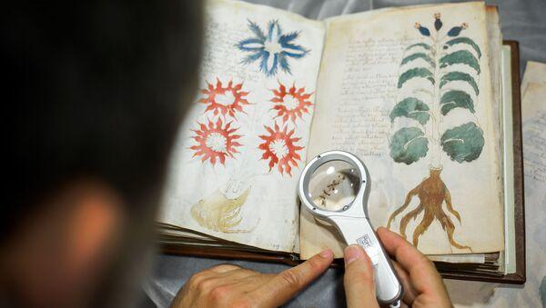 Voynichův rukopis - Sputnik Česká republika