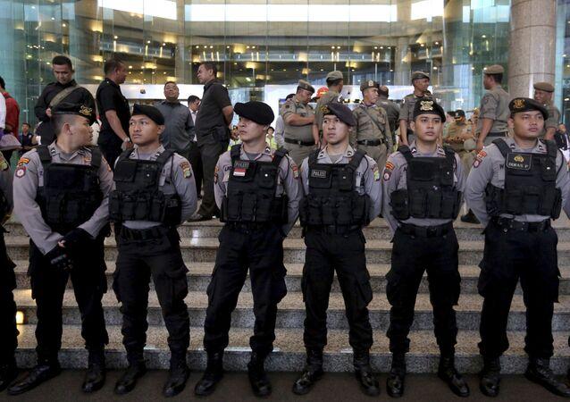 Policie Indonésie