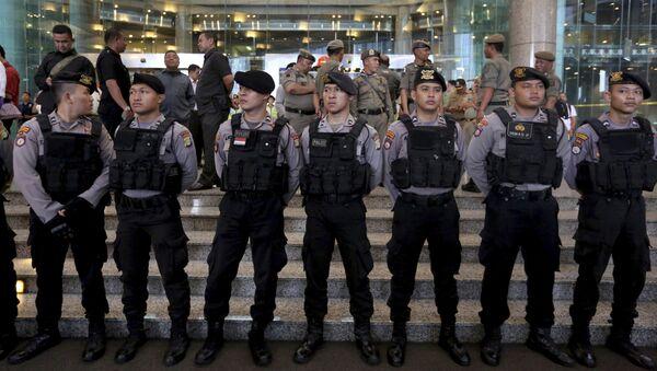 Policie Indonésie - Sputnik Česká republika
