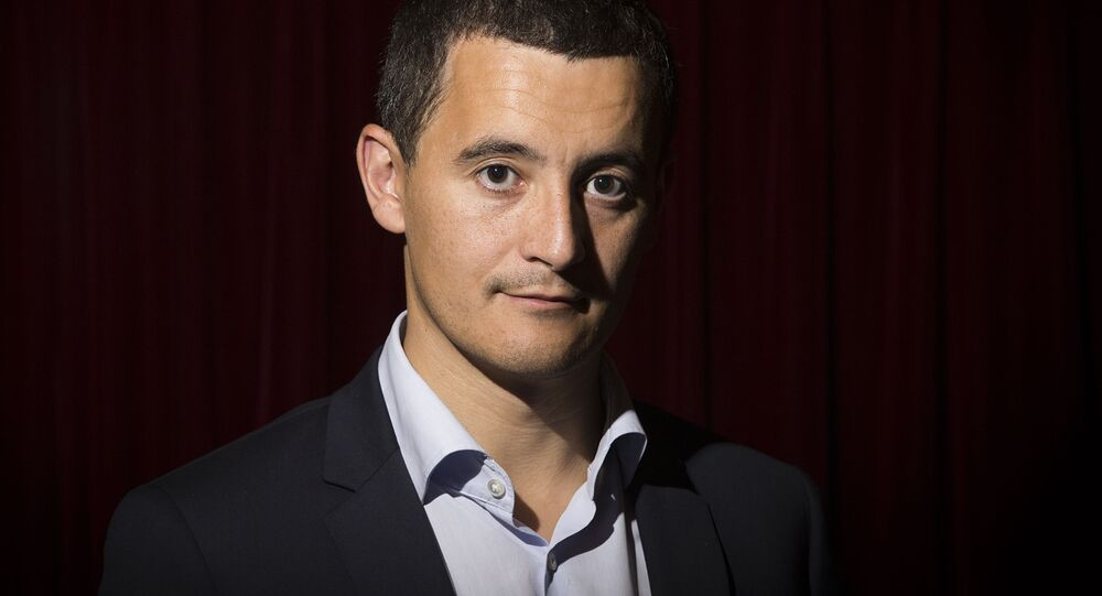 Francouzský ministr státních účtů Gérald Darmanin