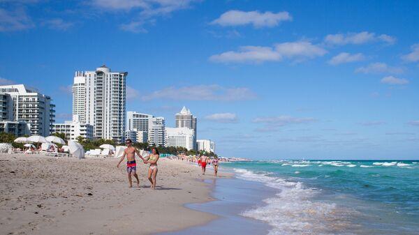 Pláž v Miami - Sputnik Česká republika