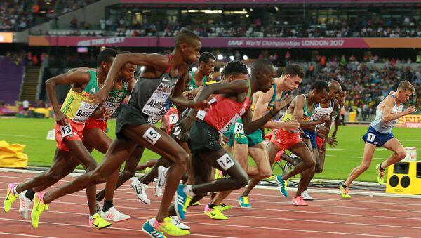 Závod v běhu na 5 tisíc metrů, MS v lehké atletice v Londýně - Sputnik Česká republika