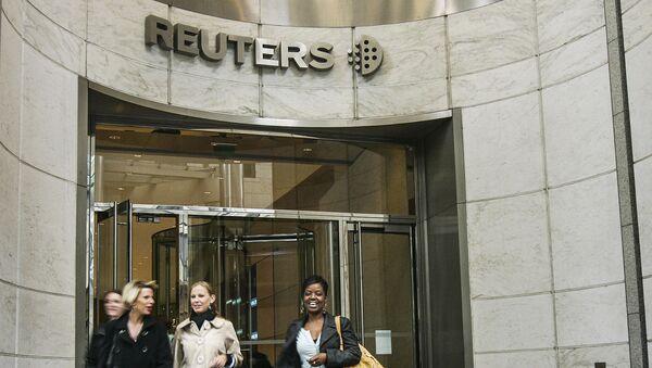 Sídlo Reuters v Londýně - Sputnik Česká republika