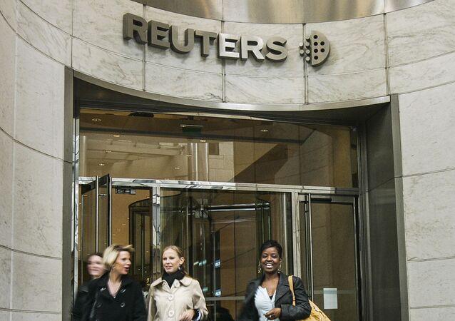 Sídlo Reuters v Londýně