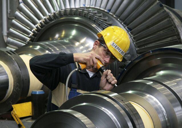 Závod společnosti Siemens