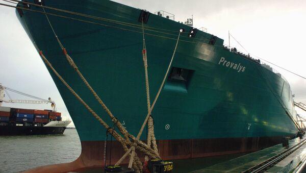 Tanker Provalys - Sputnik Česká republika