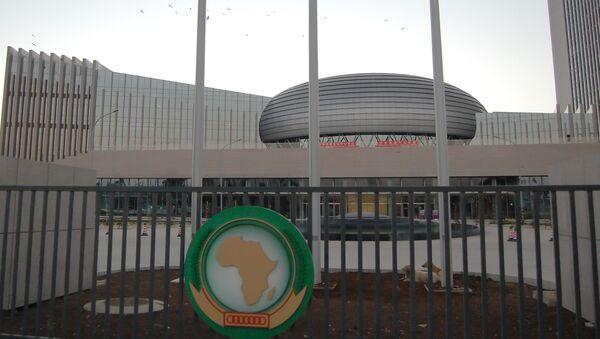 Konferenční centrum a sídlo Africké unie v Addis Abebě - Sputnik Česká republika