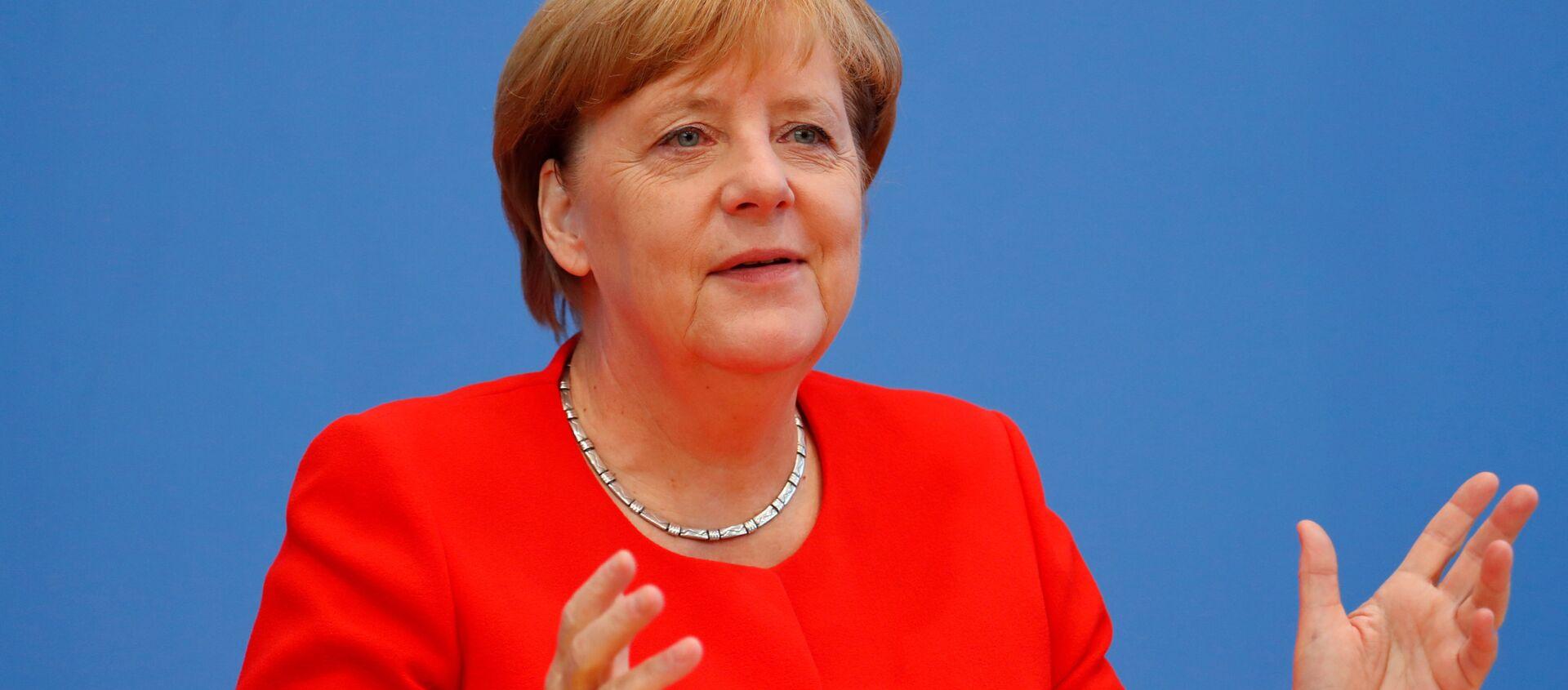 Německá kancléřka Angela Merkelová - Sputnik Česká republika, 1920, 24.02.2021