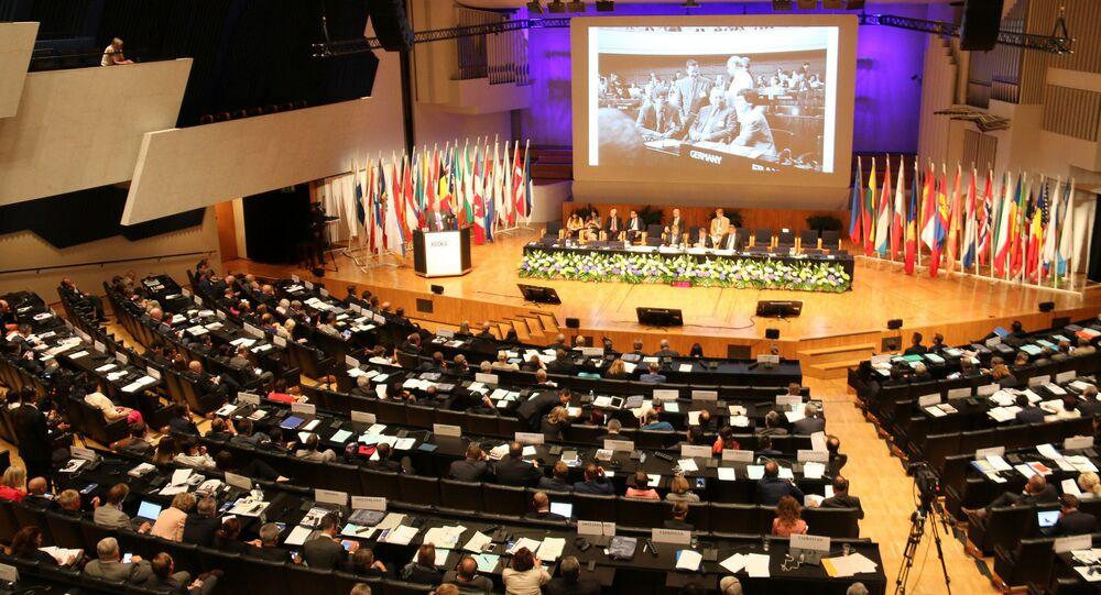 Zasedání Parlamentního shromaždění OBSE v Helsinkách