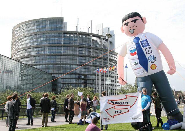 Protesty proti TTIP