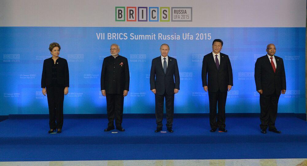 Lídři BRICS