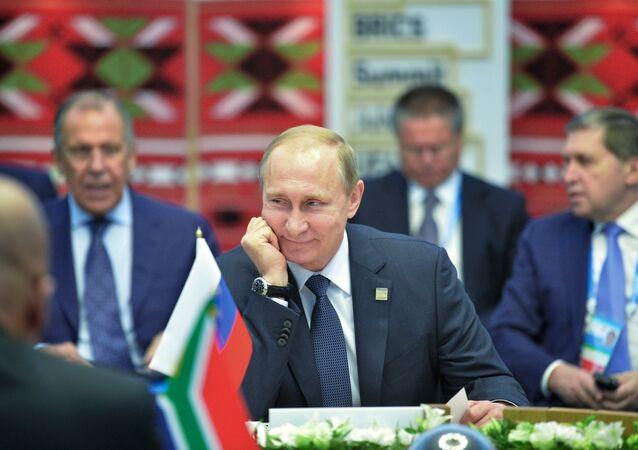 Členské země BRICS plánují setkat se na summitu G20 v Turecku v polovině listopadu, prohlásil prezident RF Vladimir Putin.