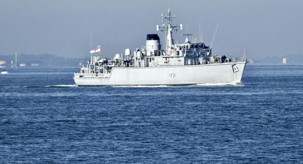 Britský torpédoborec Cattistock