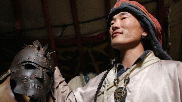 Šaman v jurtě, Mongolsko - Sputnik Česká republika
