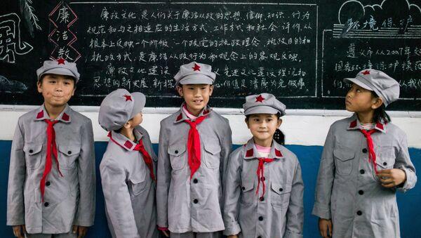 Čínští školáci - Sputnik Česká republika