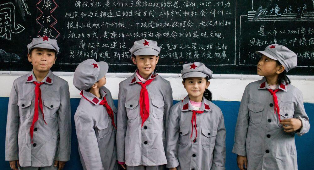Čínští školáci