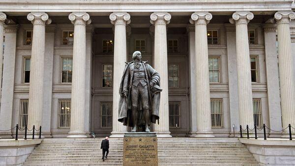 Ministerstvo financí v USA - Sputnik Česká republika