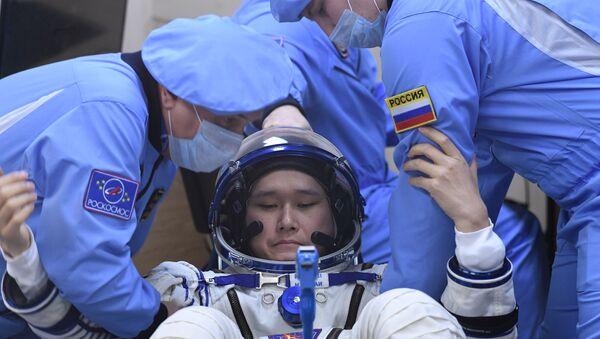 Japonský astronaut Norišige Kanai - Sputnik Česká republika