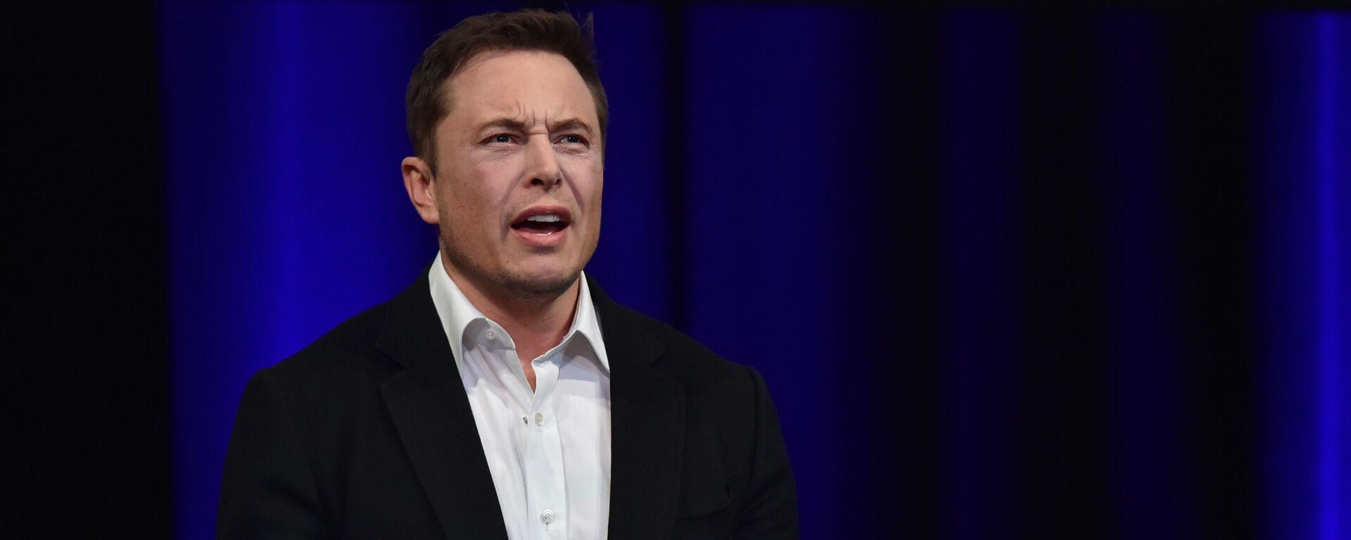 Zakladatel společností Tesla a SpaceX Elon Musk - Sputnik Česká republika, 1920, 20.05.2021