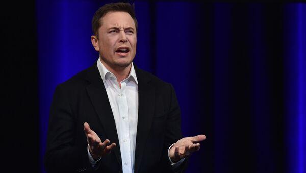 Zakladatel společností Tesla a SpaceX Elon Musk - Sputnik Česká republika