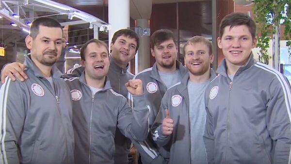 Do Jižní Koreje se z Moskvy vydali závodníci short tracku, sáňkaři a curleři - Sputnik Česká republika