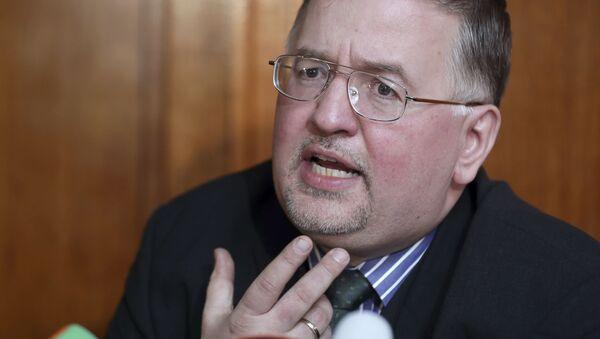 Člen německé ultrapravicové strany Alternativa pro Německo (AfD) Arthur Wagner - Sputnik Česká republika