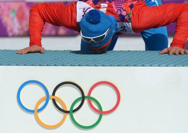 Ruský lyžař Alexandr Legkov