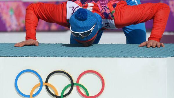 Ruský lyžař Alexandr Legkov - Sputnik Česká republika
