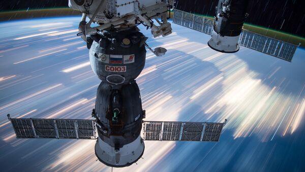 Kosmické lodě Sojuz a Progress připojené k ISS - Sputnik Česká republika