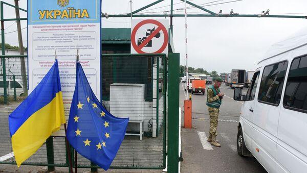 Hraniční přechod Šegini. Ilustrační foto - Sputnik Česká republika