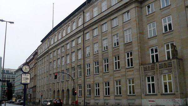 Bývalá budova gestapa v Hamburku - Sputnik Česká republika